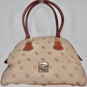 Dooney & Bourke Signature Canvas Shoulder Purse